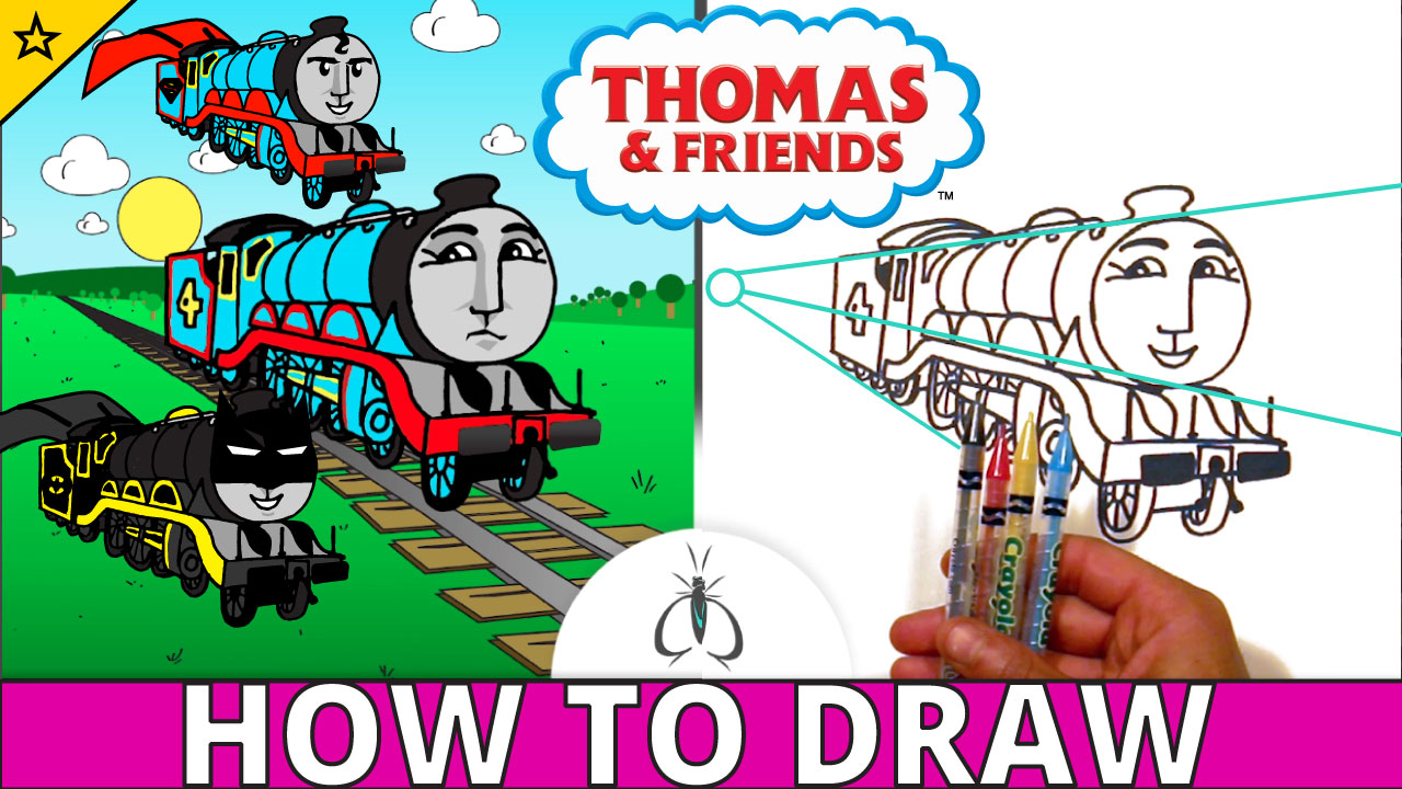 Jump to How to Draw Gordon the Big Engine
