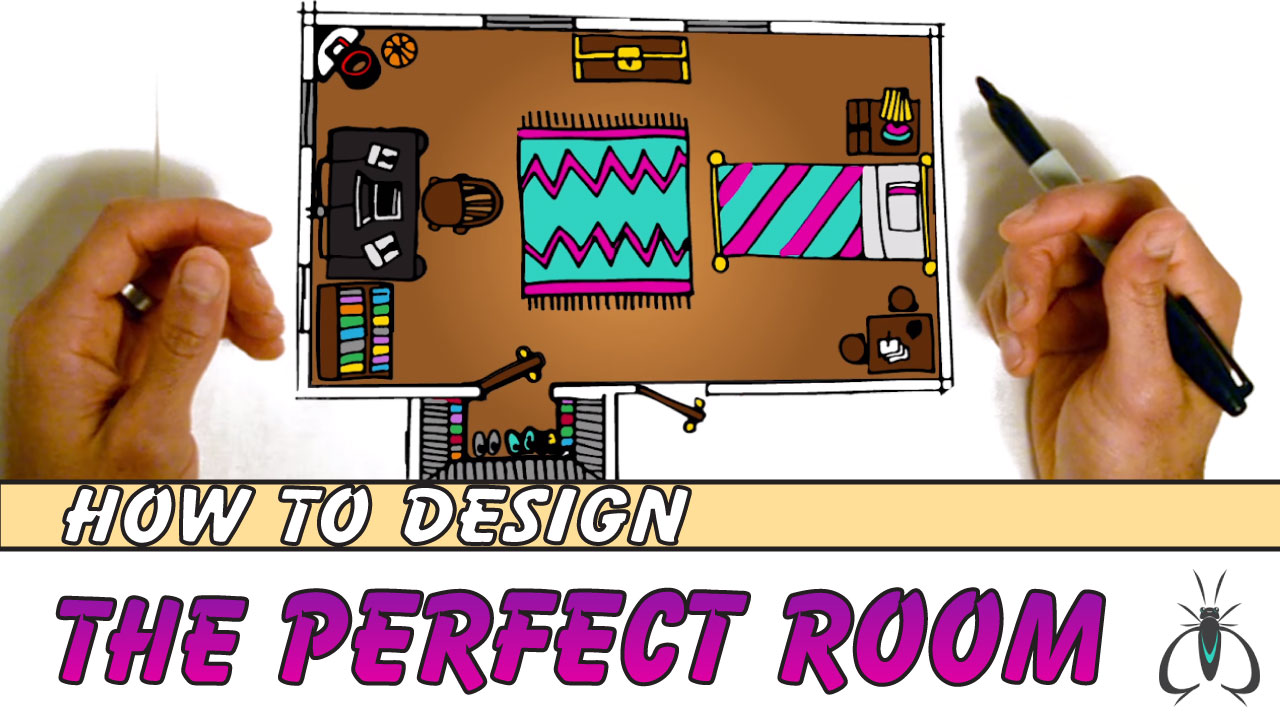 How to Draw a Room Floor Plan Drawing Tutorial