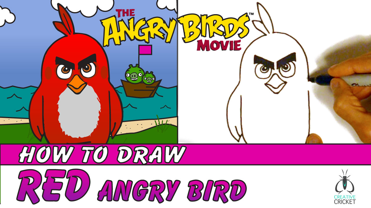 Drawing Angry Birds Movie: Educational Art Lessons For Kids And