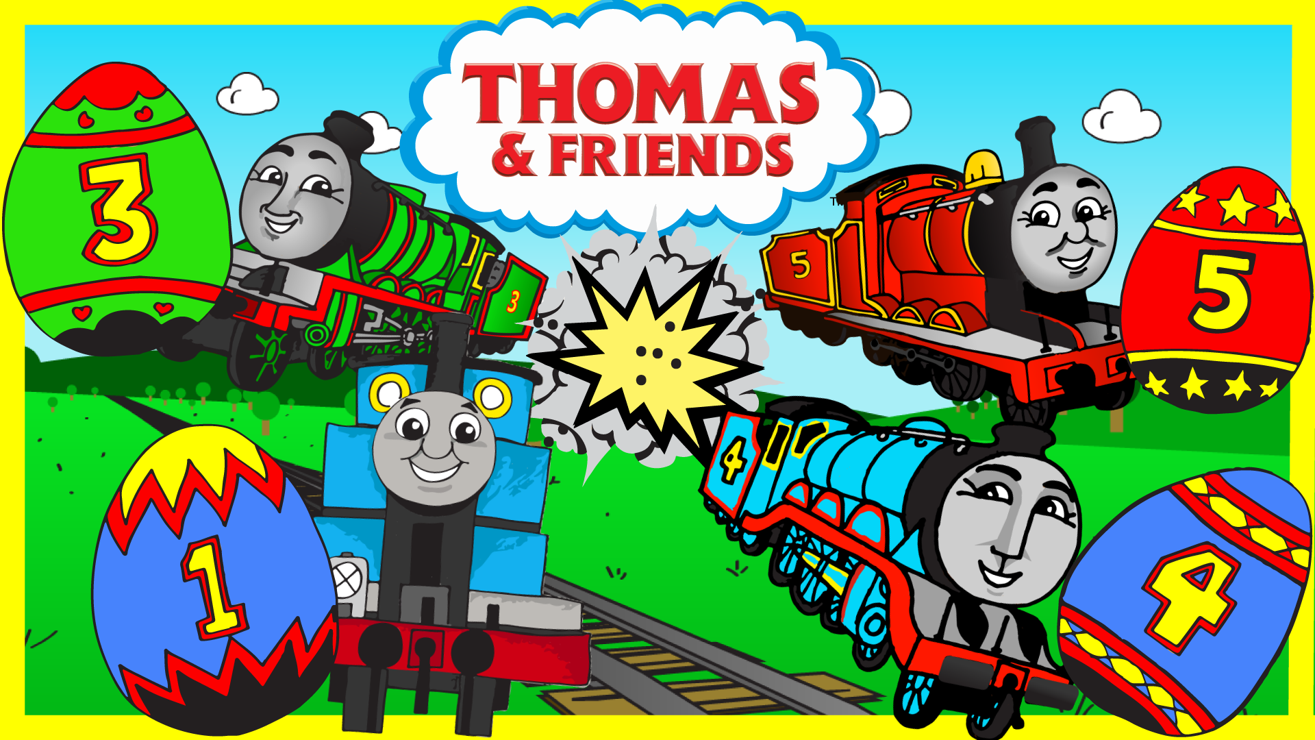 Jump to Thomas and Friends Surprise Eggs