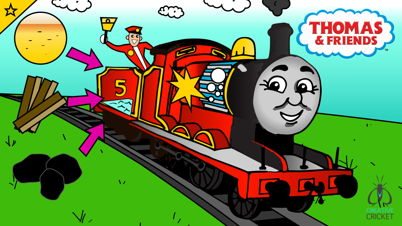 Jump to Learn About James the Red Engine