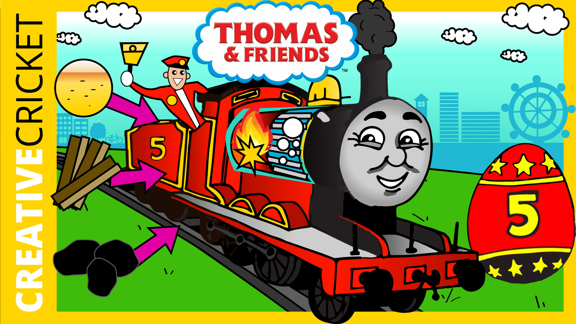 Jump to Thomas and Friends Adventures with James